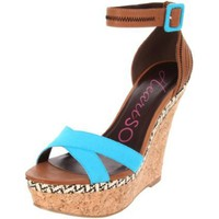 Heart Soul Women's Lillian Ankle-Strap Sandal - designer shoes, handbags, jewelry, watches, and fashion accessories | endless.com