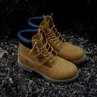 "Timberland 6"" Waterproof Premium Boot - Wheat 