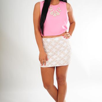 My Wish For You Top: Bubblegum Pink