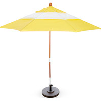 Palm Springs Patio Umbrella, Yellow