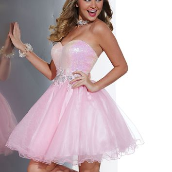 Hannah S 27882 Strapless Sweetheart Dress