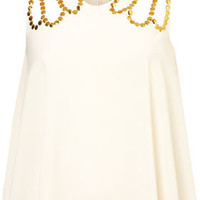 **Studded Deco Top by Coco&#x27;s Fortune - New In This Week  - New In  - Topshop