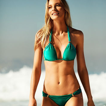 ViX Solid Green - Bia Tube Bikini Top | Beachbliss