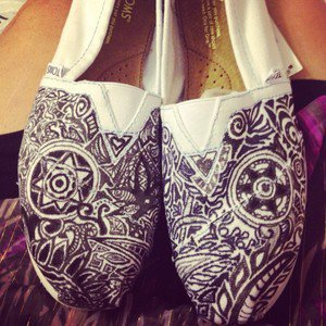 CUSTOM TOMS women&#x27;s shoes! | eBay