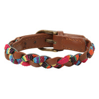LOVEsick Leather Braided Bracelet