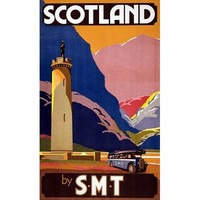 NEW! Vintage Scotland by SMT Scottish Travel Poster Home Decor Wall Art