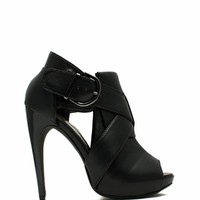 X Appeal Cut-Out Heels