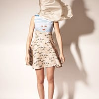 OPENING CEREMONY & MAGRITTE SHEHERAZADE SLEEVELESS FLARE DRESS