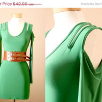 ON SALE Ends 6/4 Bodycon Dress With CutOut Sleeves by PYTboutique