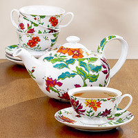 Hothouse Floral Tea Collection | Coffee and Tea Accessories| Kitchen & Dining | World Market