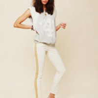 Free People Embroidered Super Skinny