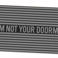 FEET FIRST: I AM NOT YOUR DOORMAT by Rebecca Chitty