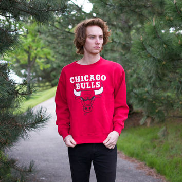 Retro 90's Chicago Bulls Sweatshirt