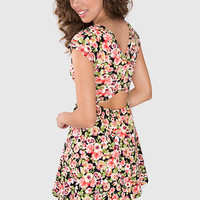 Mari Belle Floral Dress