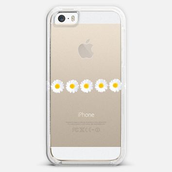 DAISY CHAIN Crystal Clear iPhone Case iPhone 5s case by Monika Strigel | Casetagram