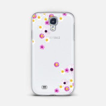 FLOWER RAIN Crystal Clear GALAXY S4 Galaxy S4 case by Monika Strigel | Casetagram