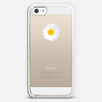 LITTLE DAISY Crystal Clear iPhone Case iPhone 5s case by Monika Strigel | Casetagram