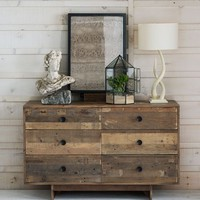 Emmerson 6-Drawer Dresser - Reclaimed Pine