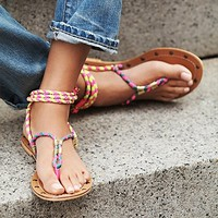kim & zozi Womens Cosworth Wrap Sandal -