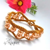 Curvy And Wavy Bracelet Tutorial | Luulla