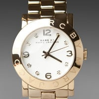 MARC BY MARC JACOBS Amy Watch in Gold at Revolve Clothing - Free Shipping!