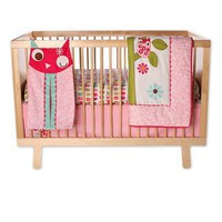 Owls 4 Piece Crib Bedding Set | Zutano: Clothes Unique As Your Baby