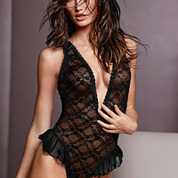 Lace Cutout Teddy - Very Sexy - Victoria's Secret