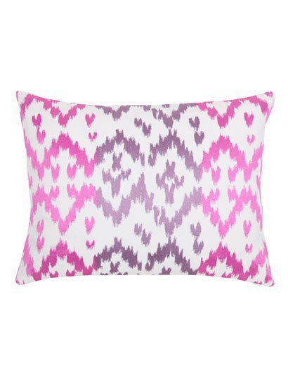 Ikat Orchid Pillow - New Arrivals