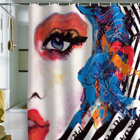 DENY Designs Home Accessories | Lana Greban Real Fantasies Prada 3 Shower Curtain