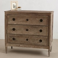 Washed Wood Dresser