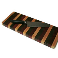 Cheese or Bread Board Cutting Board End by BillsWoodenPleasures