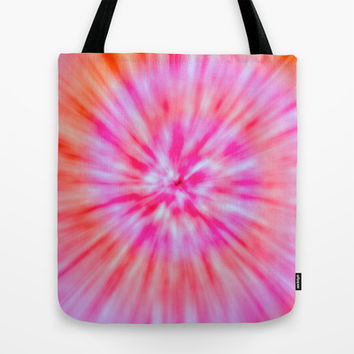 TIE DYE Tote Bag by Nika