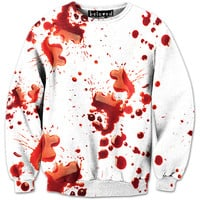 Blood Splatter Sweatshirt