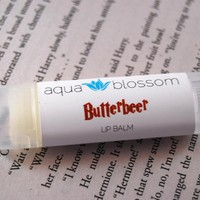 READY TO SHIP, Butterbeer Lip Balm, All Natural | Luulla