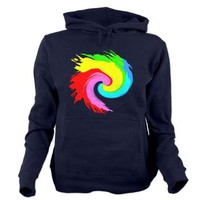 ColorsTwist Women's Hooded Sweatshirt> ColorsTwist> Girl Tease