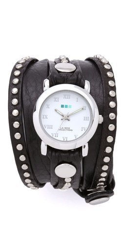 La Mer Collections Bali Studded Wrap Watch | SHOPBOP
