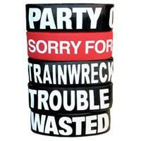 PARTY PACK OF 5 BRACELETS
