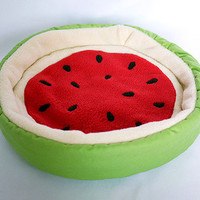 "cosy cuddle bed ""watermelon"" for guinea pigs"