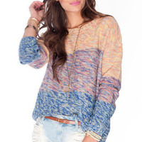 Over the Rainbow Sweater in Mixed Multi :: tobi