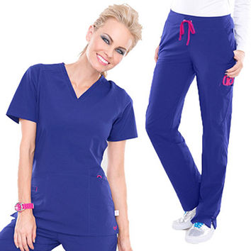 Smitten Women's Scrub Set