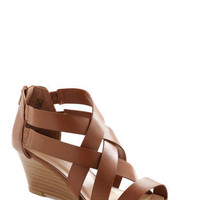 Strappy Together Wedge