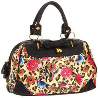 Iron Fist Lounge Leopard Satchel