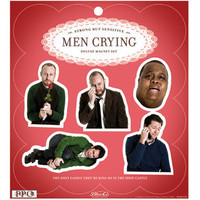 MEN CRYING MAGNETS