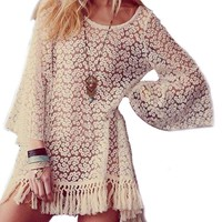 Women Shirt Lace Tops
