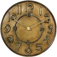 The Met Store - Frank Lloyd Wright: Exhibition?- Typeface Wall Clock