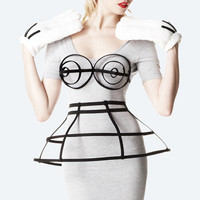 chromat — Double Layer Skirt