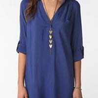 UrbanOutfitters.com &gt; Sparkle &amp; Fade Shirtdress