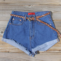 Summer Nights Cuffed Jean Shorts