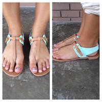 Oceanside Tan Sandals