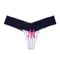New York Yankees Perfect Pink Thong